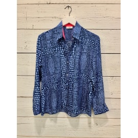 GOODWOOD Blouse - Croc Sea