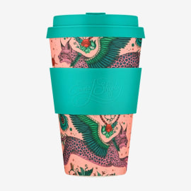 LYNX Coffee Cup - Coral