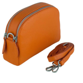 VIOLA Cross-Body Handbag - Orange