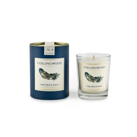 Luxury Candle - Cedar, Birch & Vetiver/Feather