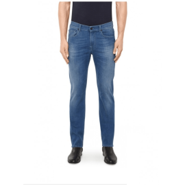 SLIMMY Luxe Performance Jeans - Mid Blue