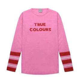 TRUE COLOURS Jumper - Pink