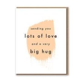 Lots of Love & a Big Hug Card