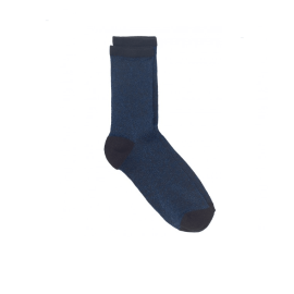 DINA SOLID SOCKS - Blue Nights