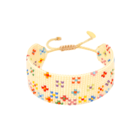 Rainbow Beaded Bracelet - Dosty