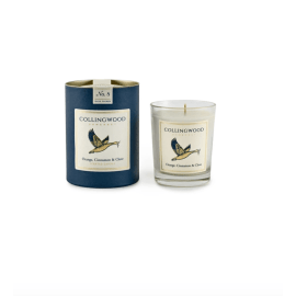 Luxury Candle - Orange, Cinnamon & Clove/Snow Goose