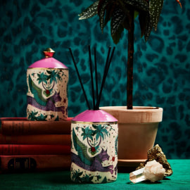 LYNX Bone China Diffuser - Tuberose & Gingerlilly