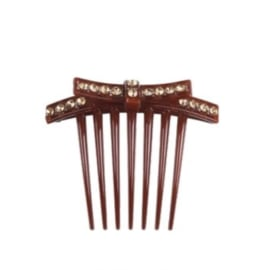 SPARKLE Hair Clip - Brownish