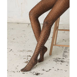 TORO Transparent Leo Tights - Beige