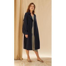 MAKENNA COAT - Navy