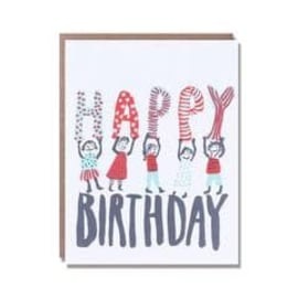 Happy Birthday People Card