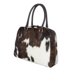 MIMOSA Handbag - Brown Cow