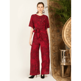 CROCODILE Jumpsuit - Red
