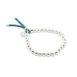 FREEVO Silver Stretch Bracelet