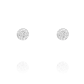 SILVER STUDS - Pair