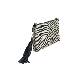 FORGET-ME-NOT Clutch - Zebra