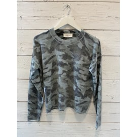 AMY Cashmere Jumper - Camouflage