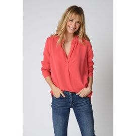 BOUNTY Blouse - Soft Geranium