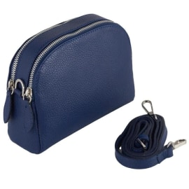 VIOLA Cross-Body Handbag - Navy Blue