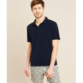 BOUCLETTE Polo Shirt - Dark Blue