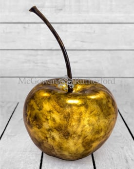 Extra Large Gold Leaf Cherry Table Decor