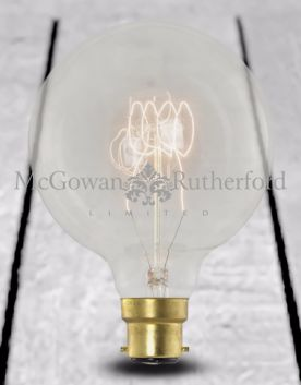 Retro Extra Large Quad Loop Filament Globe Bulb (B22 40w)