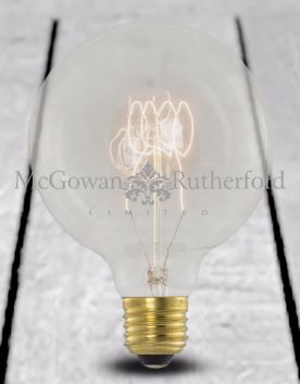 Retro Extra Large Quad Loop Filament Globe Bulb (E27 40w)