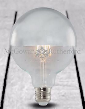 LED 3w Filament Bulb with Silver Crown (E27)
