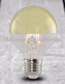 LED 3w Filament Bulb with Gold Crown (E27)