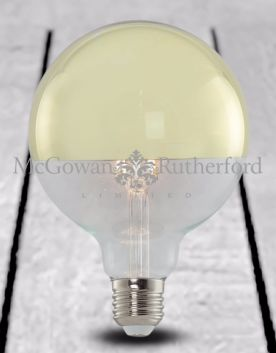 LED 3w Retro Filament Bulb with Gold Crown (E27)
