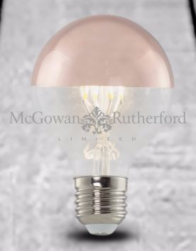 LED 3w Retro Filament Bulb with Copper Crown (E27)