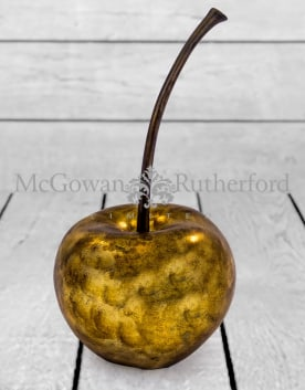 Large Gold Leaf Cherry Table Decor