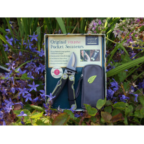 Folding Pocket Secateurs - Apple Green