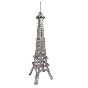 Eiffel Tower in a Tin - display sample