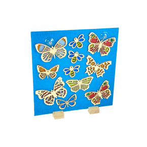 Butterflies and Bees Suncatchers - Display Board