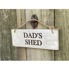 Garden Sign - Dad's Shed NEW