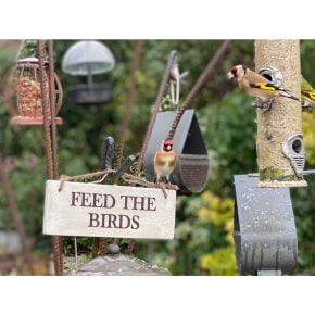 Garden Sign - Feed The Birds AVAILABLE NOW