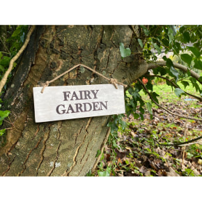 Garden Sign - Fairy Garden NEW