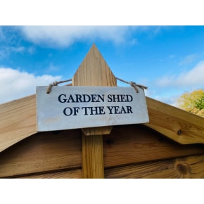 Garden Sign - Garden Shed of the Year AVAILABLE MARCH