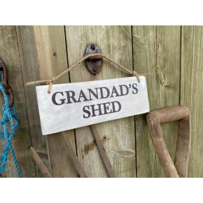Garden Sign - Grandad's Shed AVAILABLE MARCH