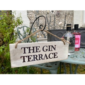 Garden Sign - The Gin Terrace NEW
