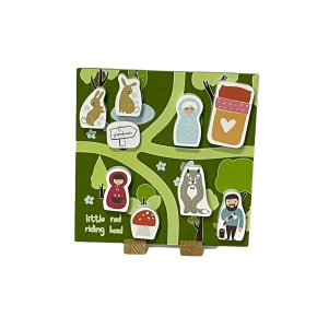 Storytime Tin - Little Red Riding Hood - Display Board