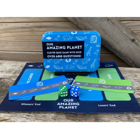 Quiz in a Tin - Our Amazing Planet - New!