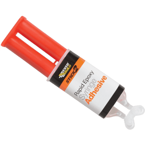 Everbuild 2 Part Rapid Epoxy Syringe - 24ml