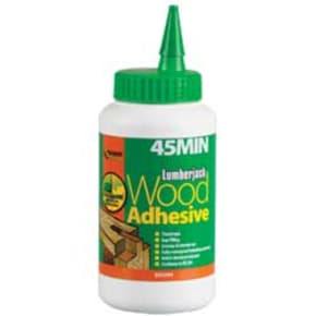 Everbuild Lumberjack 45 Minute PU Liquid Wood Adhesive 750g