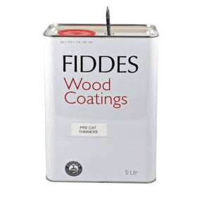 Fiddes Pre Cat Lacquer Thinners - 5 litre