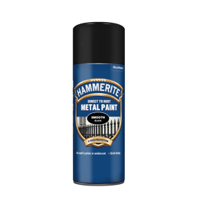 Hammerite Smooth 400ml Aerosol - Black