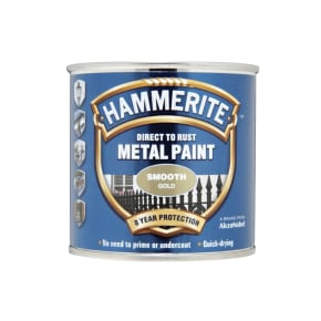 Hammerite Smooth Direct to Rust Metal Paint 750ml