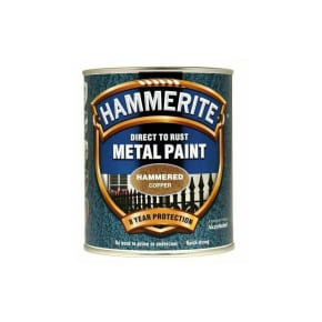Hammerite Hammered Finish Direct to Rust Paint 750ml
