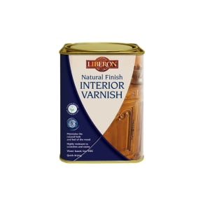 Liberon Natural Finish Interior Varnish 1L